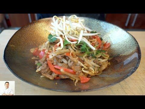 3 Minute Turbocharged Stir Fry Ramen Dish   Fastest Knife Skills?
