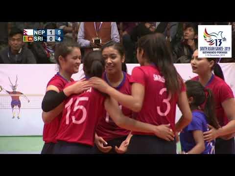 रोमाञ्चक जीत सहित  महिला भलिवल टोली फाइनलमा ll NEPAL VS SRILANKA WOMENS VOLLEY BALL HIGHLIGHTS ll