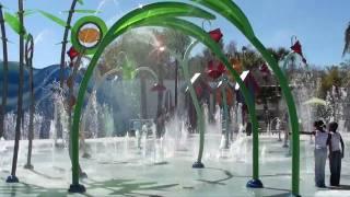 A brincadeira com água é muito mais divertida!