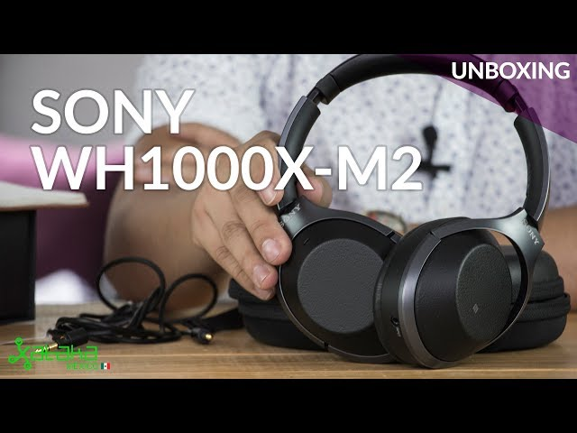 Audífonos Sony, UNBOXING, cancelación de ruido para dejar sordo a cualquiera