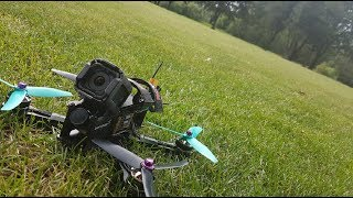 EVADE SECURITY with Freestyle Drone | Golf Park ripping | FPV Freestyle
