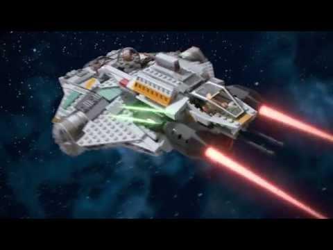 Vidéo LEGO Star Wars 75048 : Le Fantôme