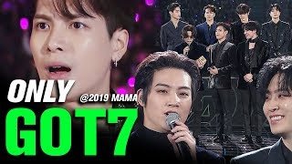 GOT7(갓세븐) at 2019 MAMA All Moments