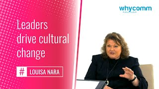 Leaders drive cultural change (7 of 19)