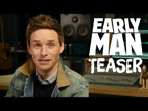"Video trailer för Eddie Redmayne Introduces ""Early Man"" Teaser Trailer!"