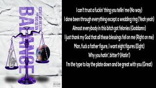 Icewear Vezzo   Balance (LYRICS) Ft. Big Sean