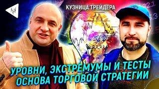 Метод Пурнова как основа прибыльной торговли трейдера: Уровни, экстремумы и тесты