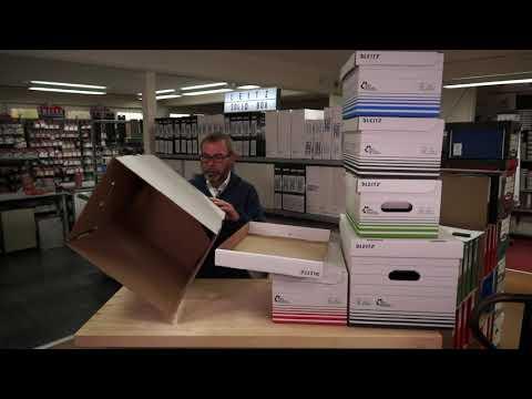 Die #SolidBox von Leitz - Archivschachtel