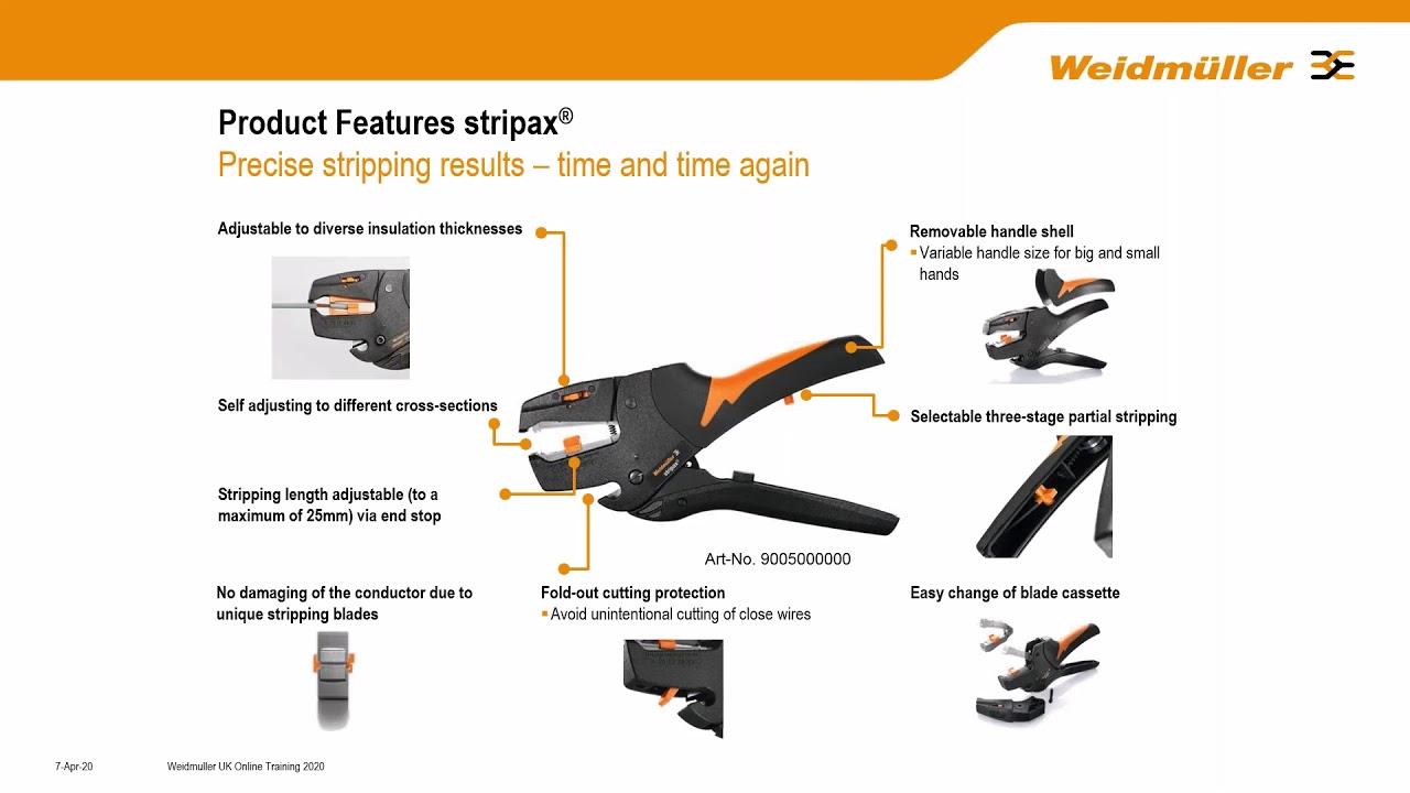 Weidmuller Tools Part 1