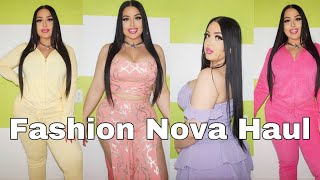 Trying Matching Sets From Fashion Nova Curve | Try On Haul