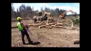 preview picture of video 'Harmer Earthmoving & Logging Full Version - Ron E Bishop Timaru NZ'