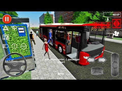 Public Transport Simulator #57 - Bus Games Android IOS gameplay #busgames
