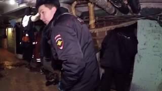 «Отель» в подвале домов по ул.Кравченко от ГБУ «Жилищник района Ломоносовский»