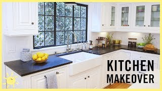 "Check out another one of a kind range canopy featured in Meg's kitchen on ""Whats up moms&qu"