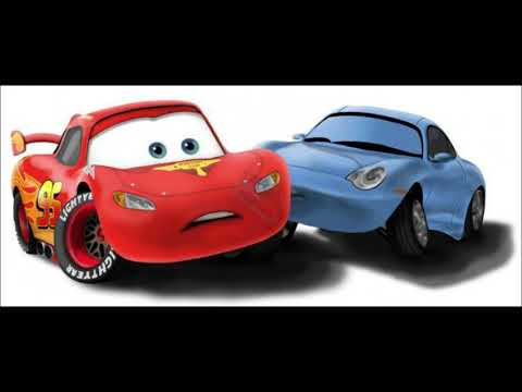 Cars. Lightning McQueen + Sally  Carrera Music Video.
