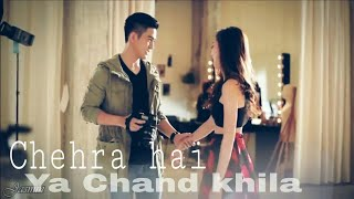 Chehra hai ya Chand khila unplugged cover song Love mix Korean