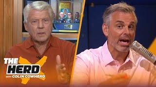 Jimmy Johnson reacts to Cowboys' Week 1 loss, Brady's Bucs & Joe Burrow's debut   NFL   THE HERD