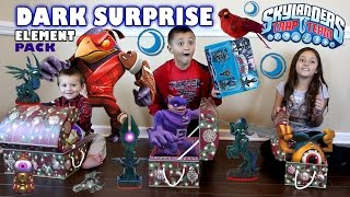 DARK ELEMENT Pack Surprise! Midnight Museum w/ Knightmare (Skylanders Trap Team Fun!)