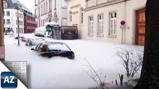 Mainz: CO2 Strömt Aus Tanklaster