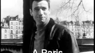 A Paris Yves Montand.