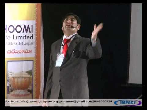 Tips To Success|Bhaskar Gupta|TELUGU IMPACT Hyd 2012