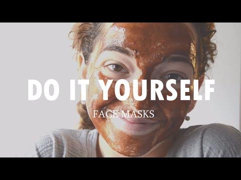 Face mask na may bitamina E at gliserin