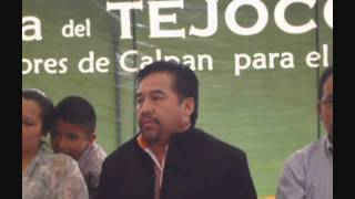 preview picture of video 'Inauguración Feria Tejocote Calpan 2014 - Palabras del Sr. Vicente Sánchez M.'