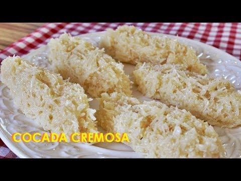 COCADA CREMOSA DE LEITE CONDENSADO | Preto Na Cozinha