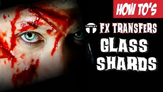 Tinsley Transfers 3D FX Transfers: GLASS SHARDS Application