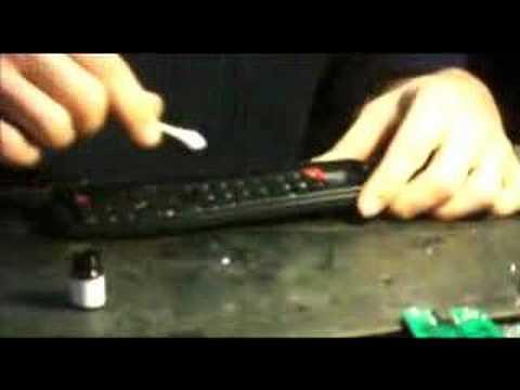 comment reparer touches telecommande