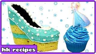 Frozen Disney Princess Elsa Shoe Cake By Hoopla Recipes