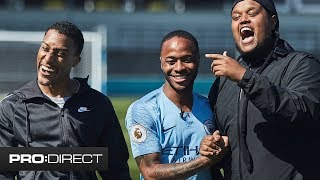 CHUNKZ & YUNG FILLY ft. RAHEEM STERLING | PAVEMENT TO PITCH