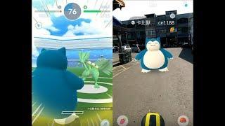 【Pokemon GO】第三代寶可夢蜥蜴王道館對戰與收服卡比獸及貓頭夜鷹! [精靈寶可夢GO]