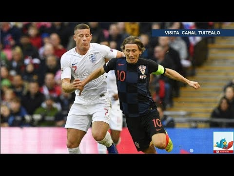 Inglaterra vence 2-1 a Croacia en Wembley y deja a España sin Final Four