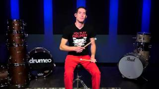 How to Drum without Drums - Your 1st Drum Beat ft. Aerodrums