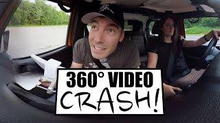 360° Video - Quadcopter Crash!