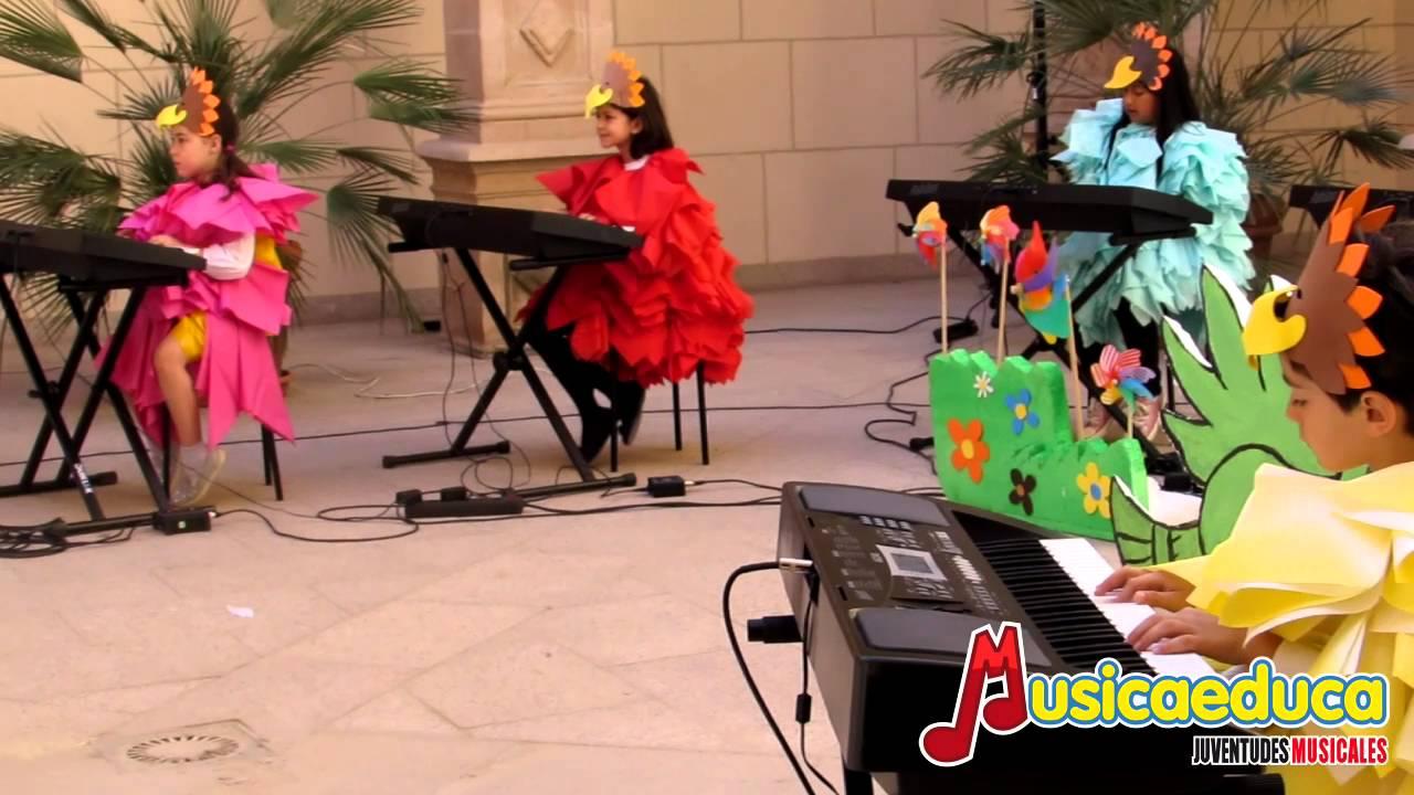 Soy un pájaro - Grupo de alumnos de Mi teclado 2 y Percubón 1 -  Escuela de Música Albéniz de Lorca