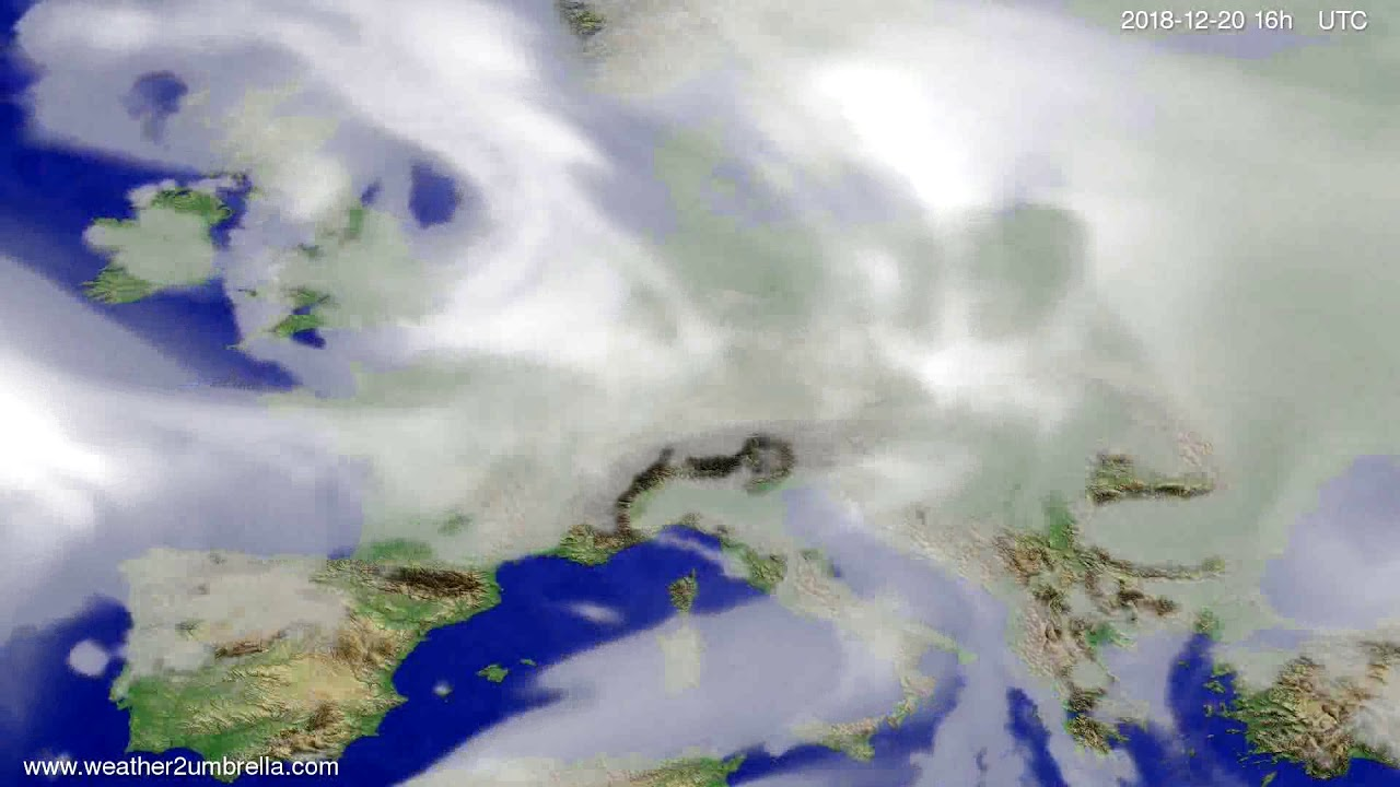 Cloud forecast Europe 2018-12-17