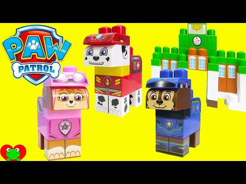 Paw Patrol Adventure Bay and Rescue Marshall Ionix Blocks Set