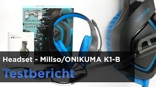 Millso ONIKUMA K1-B Gaming-Headset mit LED-Beleuchtung im Test