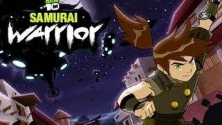 Ben 10 Samurai Warrior Full Gameplay - Ben 10 Games to Play Online Now Level 1-2-3
