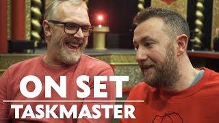 Greg Davies & Alex Horne Behind the Scenes of Taskmaster   On Set