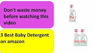 Best Baby Detergent for Newborns 2021