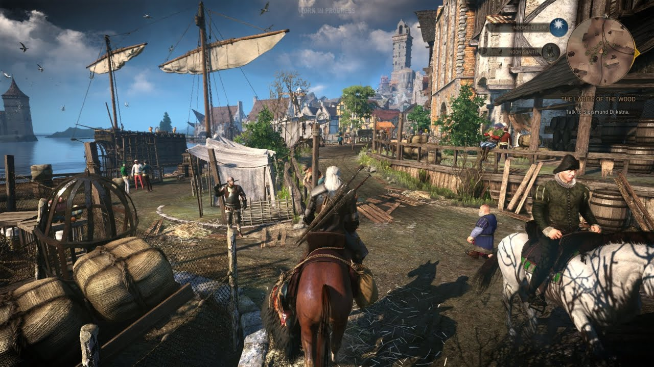 Watch 35 Minutes Of The Witcher 3 In Action