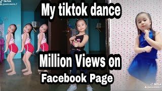 My tiktok dance videos compilation. most viewed on facebook page  Annica Tamo