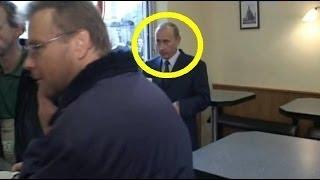 Путин зашёл в кафе выпить чашечку кофе[Прикол]