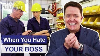 How To Deal With A Boss You Hate