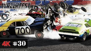 THE REAL JUNK YARD - Wreckfest Onboard 4K - LORDS OF CHAOS Event - WORLD MASTERS Series #30