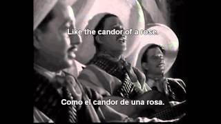 Malagueña Salerosa (ENAMORADA  1946) - ENGLISH SUBTITLES