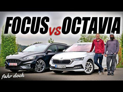 Neuer Skoda Octavia 2020 vs Ford Focus Turnier | Welcher ist der BESTE KOMBI? Fahr doch